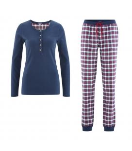 Pijama dama flanel