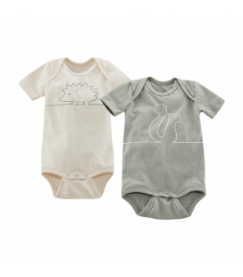Body bebe set 2 buc